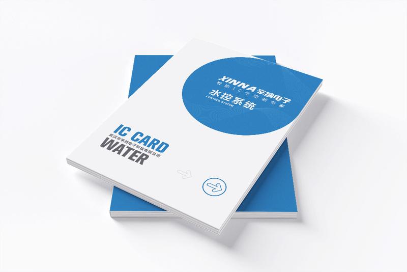 电子科技产品画册设计体现科技行业独有特性