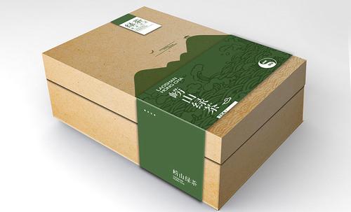 茶叶包装设计【公司】为崂山茶素在独特个性