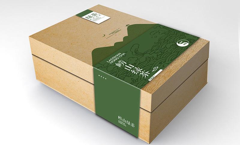 茶叶包装设计公司为崂山茶素在独特个性