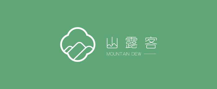 主题酒店logo设计案例居住自然山野体现