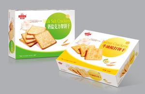 饼干食品包装抓住重点打造个性