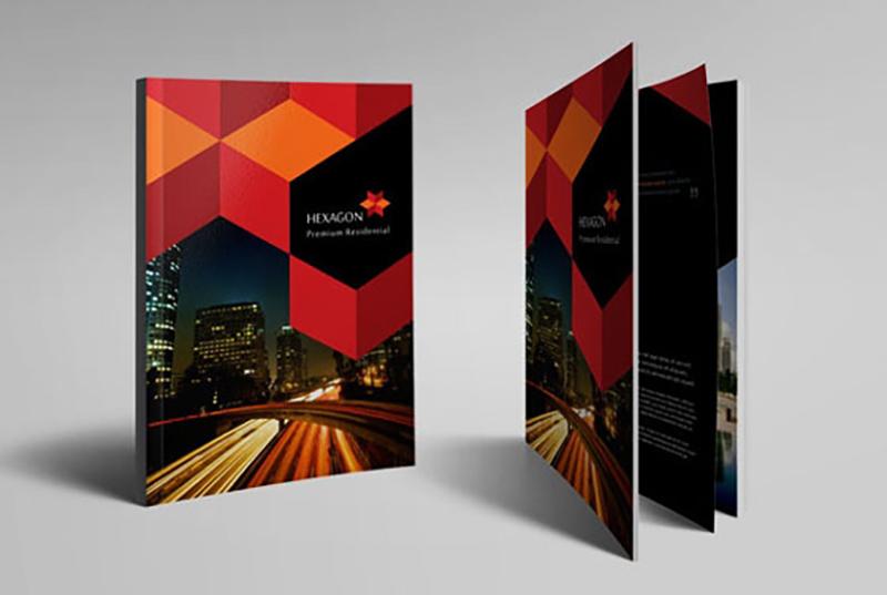 多元化集团企业画册体现国际化
