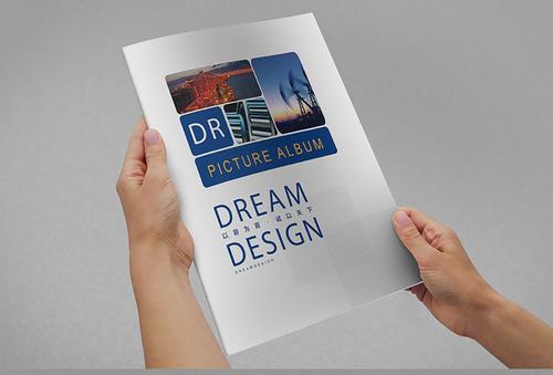 工业画册设计体现行业特性是关键