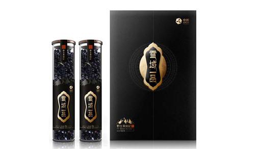 黑枸杞产品包装高端包装礼盒设计案例