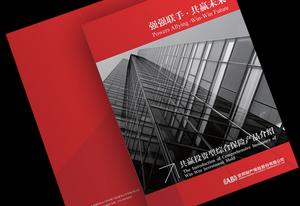 金融保险画册设计体现金融行业独有特性