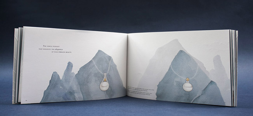 专业画册设计要让每一个细节尽情凸显