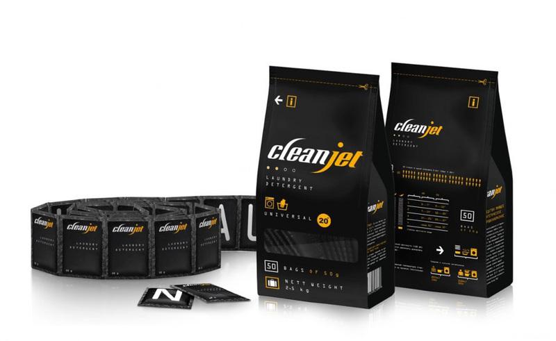 Clean Jet服饰包装为品牌打基础