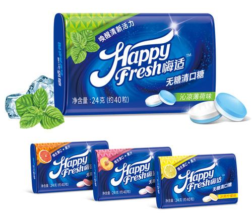 口香糖包装设计环保理念要凸显