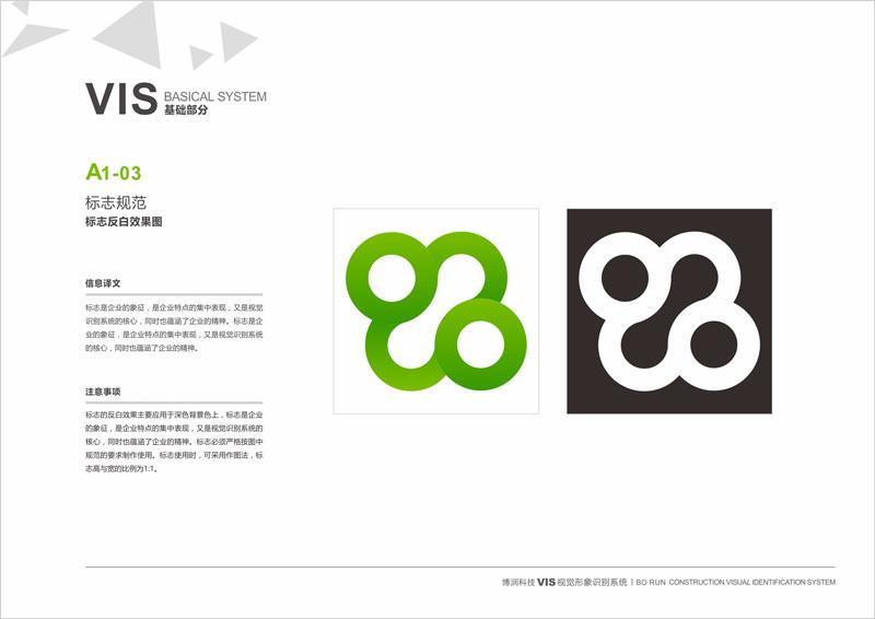 博润品牌标志设计