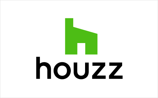 Houzz-互联网家装平台推出新标志设计-武汉上辰品牌设计公司