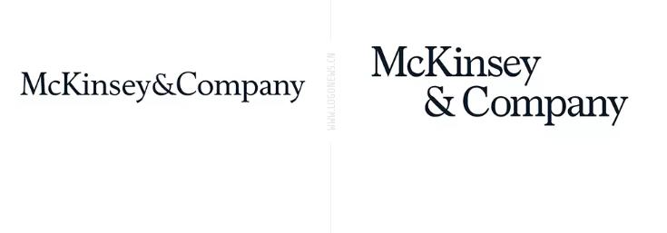 著名咨询公司麦肯锡发布新logo